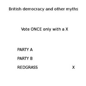 REDGRASS - BRITISH DEMOCRACY AND OTHER MYTHS