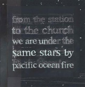 PACIFIC OCEAN FIRE - FROM THE STATION TO THE CHURCH WE ARE UNDER...