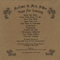 McCABE & MRS.MILLER - TIME FOR LEAVING